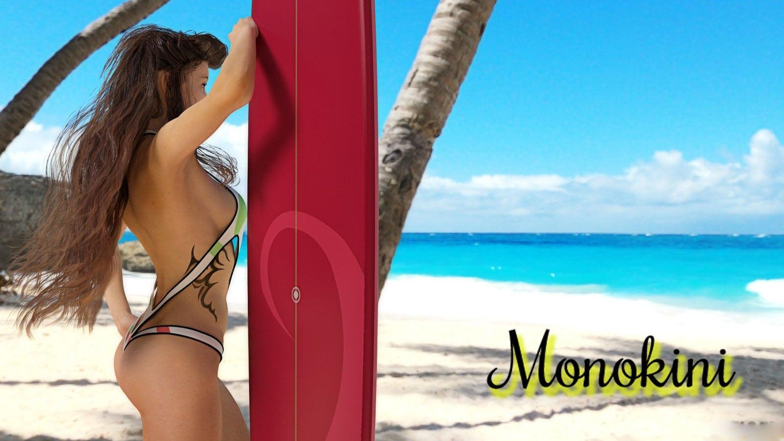 Beach Bums Miami Monokinis